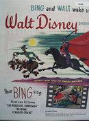 Disneys Adventures of Ichabod Ad 1949