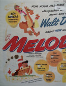 Disneys Melody Time Movie Ad 1948