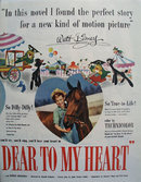 Disneys So Dear To My Heart Movie Ad 1949