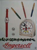 Ingersoll Watch Mickey Mouse Ad 1948