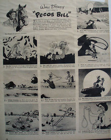 Disneys Pecos Bill Movie Ad 1948