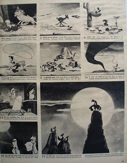 Disneys Pecos Bill Movie Ad 1948