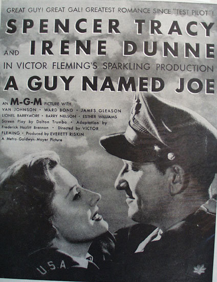 A Guy Named Joe Movie Ad 1944