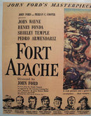 Fort Apache Movie Ad 1948