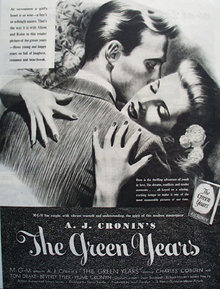 The Green Years Movie Ad 1946
