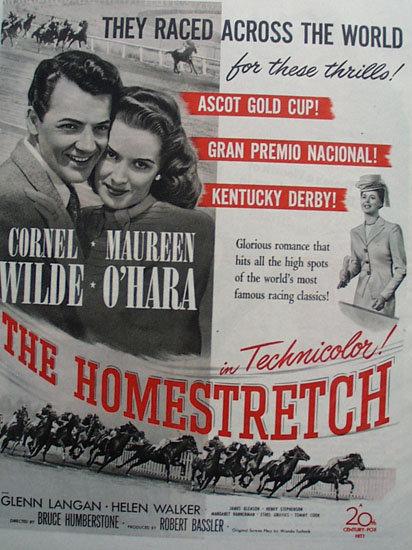 The Homestretch Movie Ad 1947