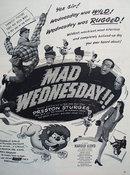 Mad Wednesday Movie Ad 1950
