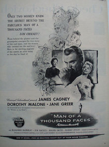 Man Of A Thousand Faces Movie Ad 1957