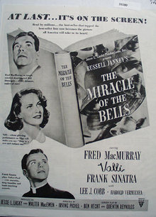 The Miracle Of The Bells Movie Ad 1948