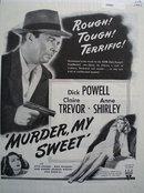 Murder My Sweet Movie Ad 1945