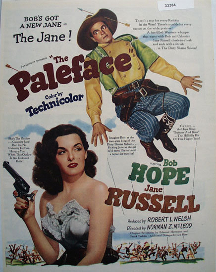 The Paleface Movie Ad 1948