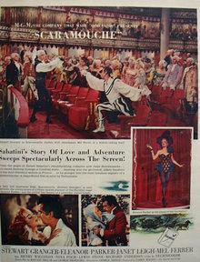 Scaramouche Movie Ad 1952