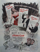 Stork Club Movie Ad 1945