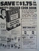 General Mills Betty Crocker Cook Book 1951 Ad