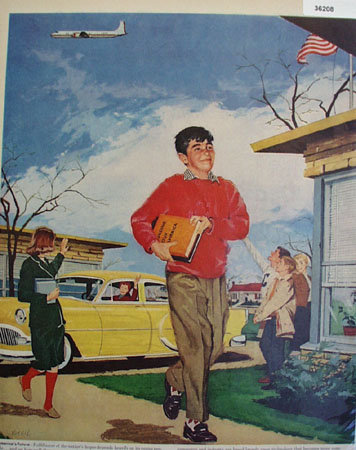 Americas Future School Dependent 1957 Ad