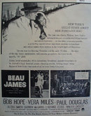 Movie Beau James Mayer Of New York 1959 Ad