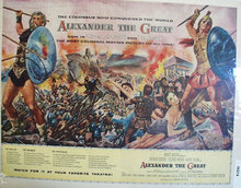 Movie Alexander The Great 1956 Ad