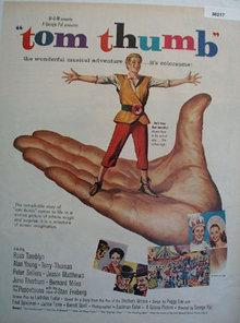 Movie Tom Thumb 1958 Ad