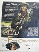 Movie The Far Country 1955 Ad