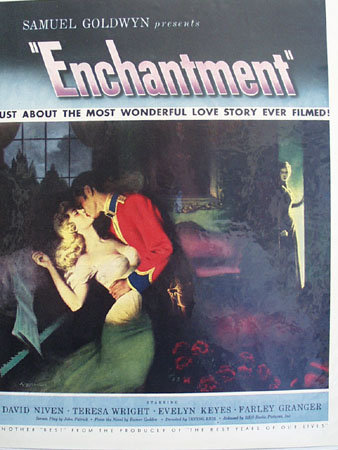 Movie Samuel Goldwyns, Enchantment 1949 Ad