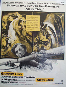 Movie Moby Dick 1956 Ad