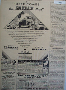 Skelly Oil And Gasoline 1930 Ad