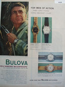 Bulova Sea Clipper Watch 1959 Ad