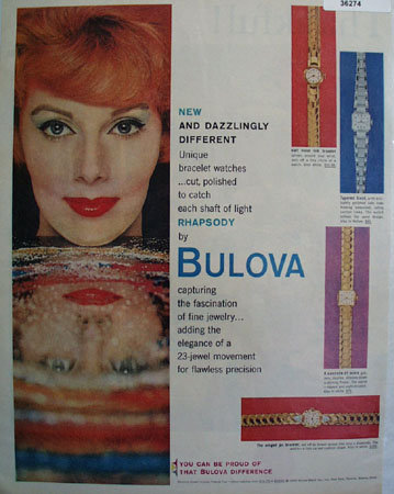 Bulova Rhapsody Watch 1959 Ad