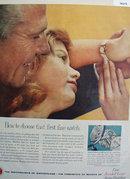 Watchmakers of Switzerland 1958 Ad