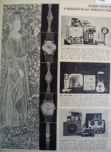 Lucien Piccard Watch 1961 Ad