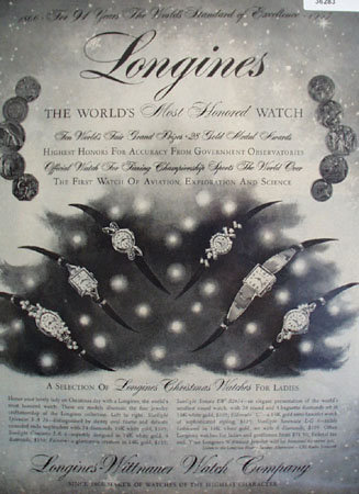 Longines Wittnauer Watch 1957 Ad