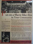 Prairie Farmer WLS  Community Service 1936 Ad