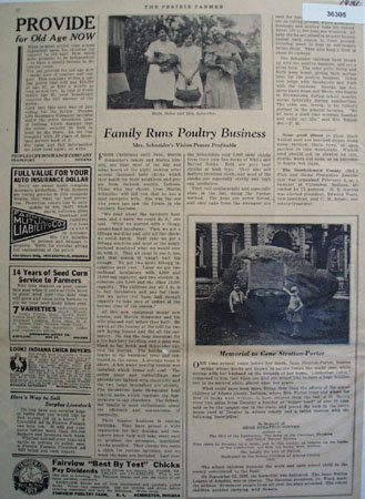 Prairie Farmer Ads and Articles 1931