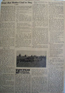 Dan Emmet Authur of the song Dixie 1930 Article