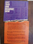 Cast Your Own Broadway Shoe 1961 Article