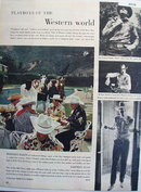 Playboys of the Western World 1956 Article