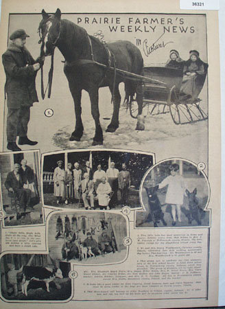 Prairie Farmer weekly News in Picture 1930 Ad