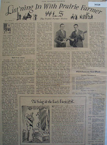 Prairie Farmer Radio Station WLS 1930 Article