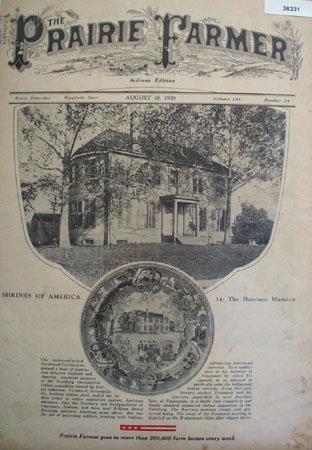 Prairie Farmer Shrines Of America 1930 Article