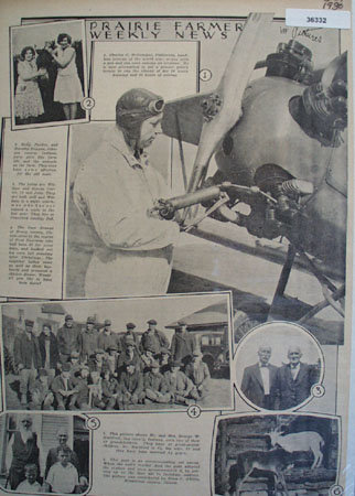 Prairie Farmer Weekly News in Picture 1930