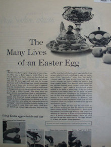 The Easter Egg 1953 Article