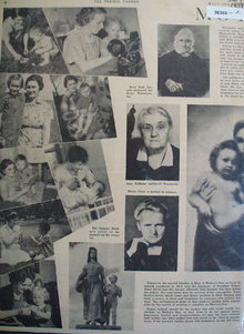 Prairie Farmer Mothers 1938 Article