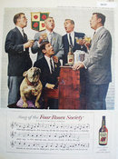 Four Roses Society 1958 Ad