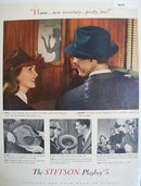 Stetson Playboy Hat 1941 Ad