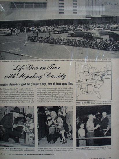 Hopalong Cassidy Ad 1949.