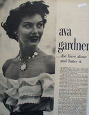 Ave Gardner Lives Alone Article 1949