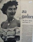 Ave Gardner Lives Alone Article 1949