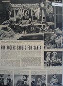 Roy Rogers Shoots For Santa Ad 1953