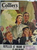 Colliers Magazine Cover 1945
