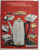 Landers, Frary And Clark Universal Gifts 1958 Ad.